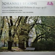 Brahms: Violin Concerto / Schneiderhan / van Kempen / Heliodor LP 89 519