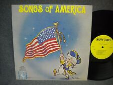 SONGS OF AMERICA BUBBLE GUM SINGERS AND ORCHESTRA 33 RPM LP VERY NICE