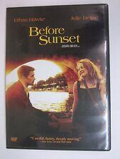 Before Sunset (Dvd, 2004)- Julie Delpy, Ethan Hawke -Director: Richard Linklater