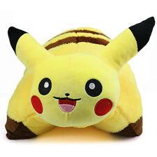 "17"" inch Pokemon Transforming Pillow Pikachu Pillow Pet Plush Cushion - Doll Toy"