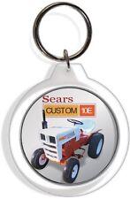 Sears Suburban Custom 10E Garden Farm Tractor Keychain Key Chain Ring