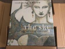 The Sky: The Art of Final Fantasy Slipcased Edition by Yoshitaka Amano Brand New