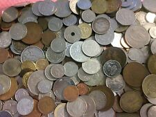 Bulk Lot of  25 Assorted World Foreign Coins- Circulated- Free Shipping