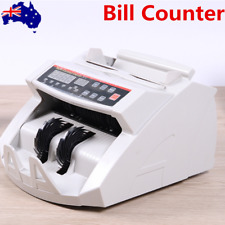 Money Bill Counter Counting Machine Multi-Currency Compatible Counters AU