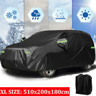 420D Oxford Waterproof SUV Cover Outdoor Car Storage Universal XL Fit 490-500cm