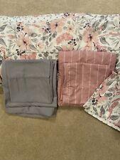 Bedding 8 piece twin Xl, Reversible comforter, Sham, 2 Sheet sets, College Dorm