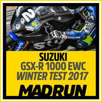 Kit Adesivi Suzuki GSX-R 1000 EWC 2017 WINTER TEST - High Quality Decals
