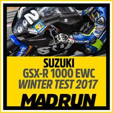 Kit Adesivi Suzuki GSX-R 1000 EWC 2017 WINTER TEST - High Quality Decals