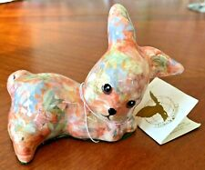 Global Studios Decoupage Ceramic China Bunny Rabbit Figurine England Adorable!