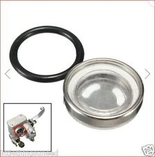 18mm Motorcycle Brake Master Cylinder Sight Glass Honda CX500 Restoration parts