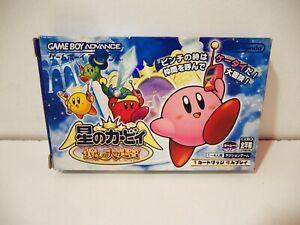 Hoshi no Kirby and the Amazing Mirror Nintendo Game Boy Advance GBA Jap NTSC