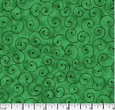 Quilting fabric Tilt a Whirl Kelly 100% Cotton BY THE YARD!!!