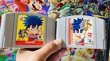 Goemon's Great Adventure + Mystical Ninja Nintendo 64 N64 Japan Import *FAST*