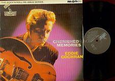 LP--EDDIE COCHRAIN--CHERISHED MEMORIES--FRANCE LIBERTY--LBYF 1109
