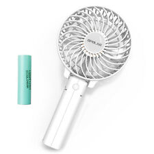 OPOLAR Mini Personal Portable Rechargeable USB Fan with 2200mAh Battery,3Setting