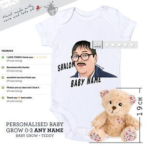 Personalised Friday Night Dinner Baby Grow Jim New Baby Gift