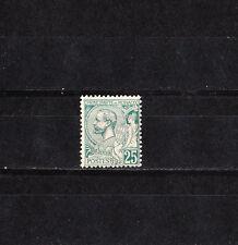 MONACO   prince  Albert 1er  25c  vert    de 1891/94   num: 16  **