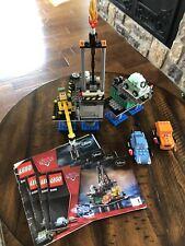 LEGO Disney Pixar Cars Oil Rig Escape 9486 Complete