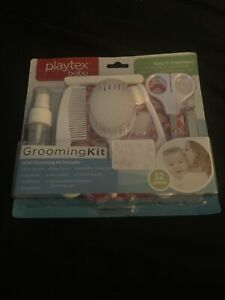 Playtex Baby Girls Pink 12 Piece Grooming Kit - Scissors - Clippers - Toothbrush