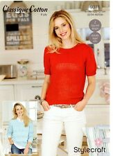 Stylecraft  9371- Ladies 4ply KNITTING PATTERN -2 Designs-not the finished items