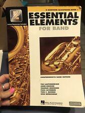 E Flat Baritone Saxophone Essential Elements For Band Comprehensive Band Method