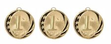 3 Pieces 1st Place Gold Medal Award Trophy With Free Lanyard Ms713G $3.49 Each
