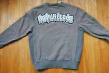 The Hundreds Embroidered Crewneck Sweater in Grey Size Medium Cotton Blend