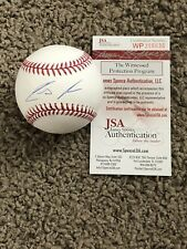 Ronald Acuna Signed Autographed MLB Baseball JSA COA Witness In Person