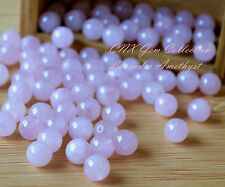 5 Pieces of Natural Rose Quartz Round Beads 10mm Large Gemstone Crystal DIY