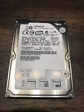 "Hitachi 120GB 5400 RPM 2.5"" IDE Hard Drive."