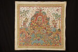 Original Balinese painting - Arjuna meditating - Ubud