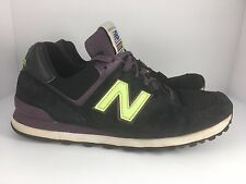 New Balance 574 US574BG Connoisseur Men US 10.5 Black + Grape Shoes  J27