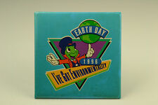 Disney Jiminy Cricket Earth Day 1996 Cast Member Pin Back Button