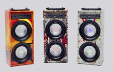 ALTAVOCES ALTAVOZ PORTATIL INALAMBRICO ALTAVOZ CON BLUETOOTH USB SD AUX DISEÑOS