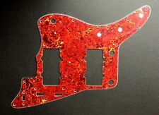 NEW Jazzmaster Pickguard Red Tortoise Shell 4 Ply for USA Fender Guitar