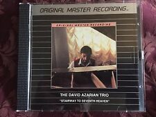 RARE DAVID AZARIAN Stairway To 7th Heaven MFSL SILVER 1987 JAPAN CD 902 not gold