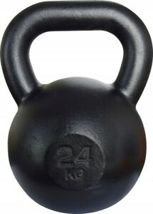 24kg Cast Iron KETTLEBELL Weight Set CrossFit Fitness Kettle Bell Weight Lifting
