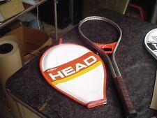 1970's Amf Head Professional Aluminum Tennis Racquet w 4 1/4 L Leather Grip