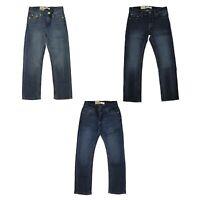 Levi's 511 Jeans for Boys Slim Blue - Adjustable Waistband - Dark