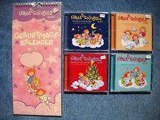 4 x Little Wingels nel pacchetto raccolta - 4 CD PLUS COMPLEANNO CALENDARIO NICI