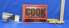 Original Cook Like A Man Cookbook Grill Grilling Tools BBQ Fork Spatula Meat