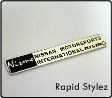 Nismo Badge Emblem Nissan Motorsport Aluminium metal Car S14 GTR 350Z S14 (80)