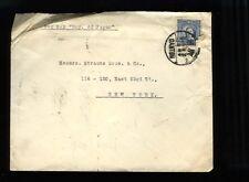 April 1937 - SS Emp Japan cover Shanghai China to NY