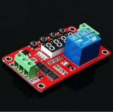 12V Multifunctional Relay Module PLC Delay Timer Switch Self-Lock Home Automatio
