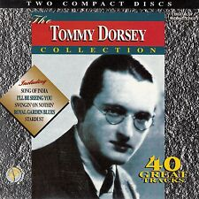 TOMMY DORSEY : THE TOMMY DORSEY COLLECTION - 40 GREAT TRACKS / 2 CD-SET