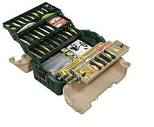Fishing Tackle Box For Lures Storage Line Bait Hook Case 6 Tray Tool Accessories