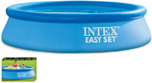 Intex 8ft Easy Set Family Swimming Paddling Pool Garden Summer Water Fun Pools