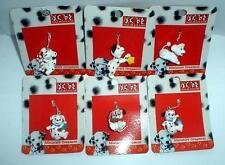 DISNEY 101 DALMATIANS MINI CHRISTMAS ORNAMENT SET OF 6 MINT ON CARDS