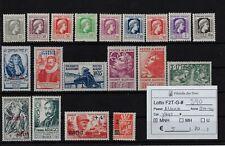 Algeria 1944 - 1945 Soggetti vari selezione Yvert & Tellier numeri vari