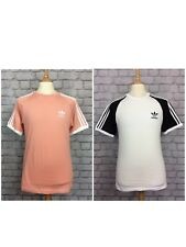 Adidas Originals Homme UK S 2PC Set California T-Shirt/Tee-shirt Rose/Blanc Casual